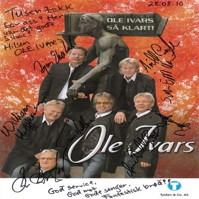 Fornøyd gjeng fra Ole Ivars
