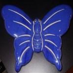 Blå sommerfugl
